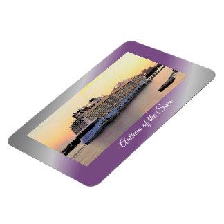 Nassau de Dageraad van de Haven met het Schip van Magneet