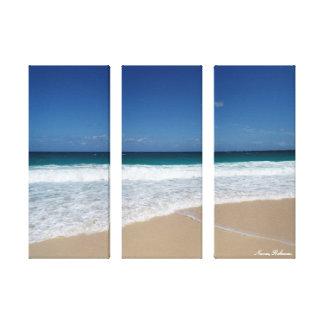 Nassau strand canvas afdrukken
