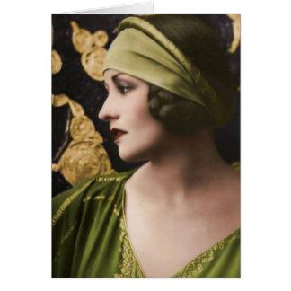 Natacha Rambova 1897-1966 Wenskaart
