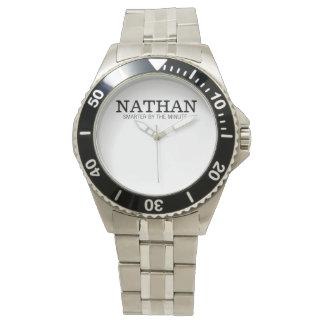Nathan Gepersonaliseerd Horloge