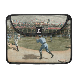 Nationaal Spel 1886 van het Honkbal van de Liga MacBook Pro Beschermhoes