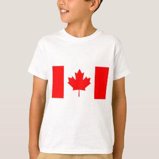 Nationale Vlag van Canada - Drapeau du Canada T Shirt