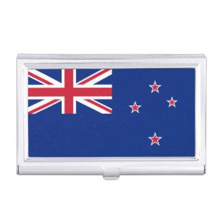 Nationale Vlag van Nieuw Zeeland Visitekaarthouder