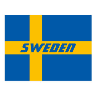 Nationale Vlag van Zweden Briefkaart