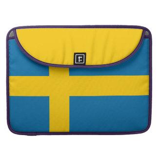 Nationale Vlag van Zweden MacBook Pro Beschermhoes