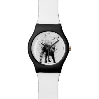 Natte hond horloge