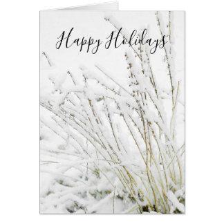 Naturen van de Takken van de Winter van Kerstmis Briefkaarten 0