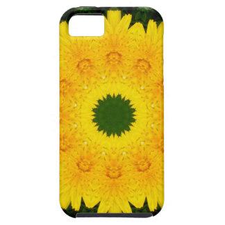 Natuur 001, bloem-Mandala van de paardebloem Tough iPhone 5 Hoesje