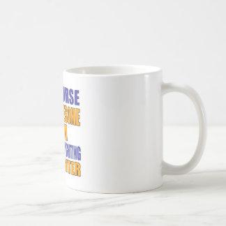 Natuurlijk ben ik het Vechten van het Vrije slag Koffiemok
