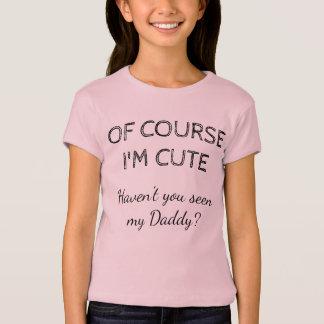 Natuurlijk ben ik leuk t shirt