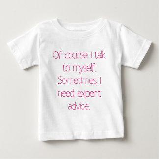 Natuurlijk spreek ik aan mij baby t shirts