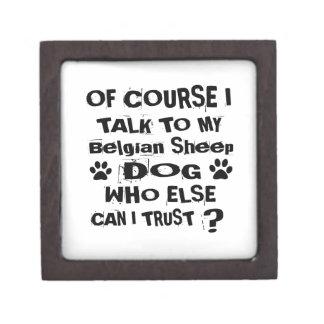Natuurlijk spreek ik aan Mijn Belgisch Ontwerp van Premium Bewaar Doosje
