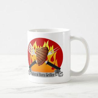 Natuurlijke Geboren Griller BBQ van het Vaderdag Koffiemok