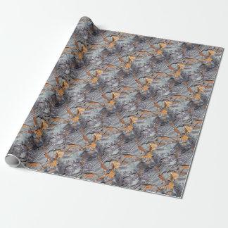 Natuurlijke lagen van agaat in een zandsteen inpakpapier