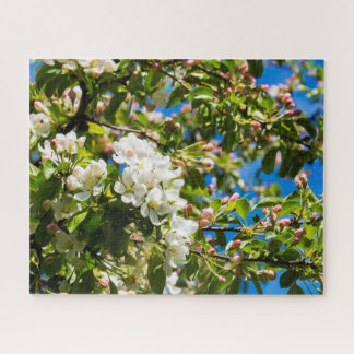 Natuurlijke Witte Bloemen Puzzel