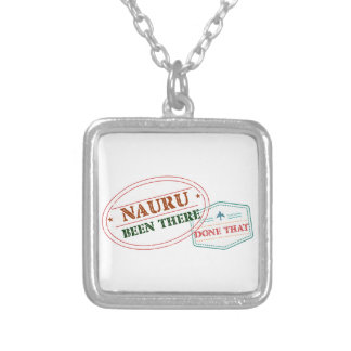 Nauru daar Gedaan dat Zilver Vergulden Ketting