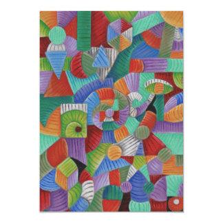 Nauticus Fibonacchi 12,7x17,8 Uitnodiging Kaart