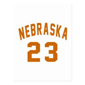 Nebraska 23 Design van de Verjaardag Briefkaart