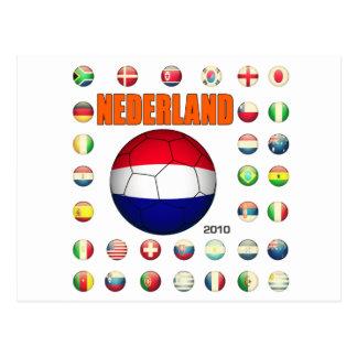 Nederland 2010 briefkaart