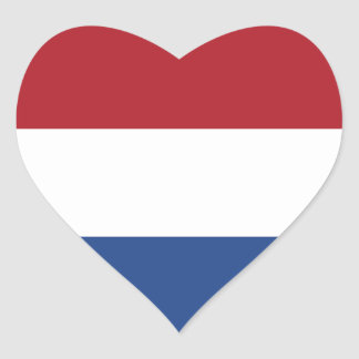 Nederland Hart Stickers