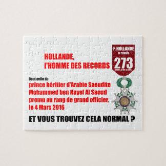 Nederland Record Legioenen van Eer - Puzzel Puzzel