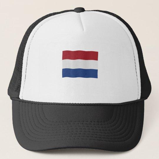 Nederland vlag trucker pet