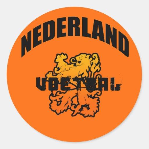 Nederland Voetbal 2010 Giften Stickers