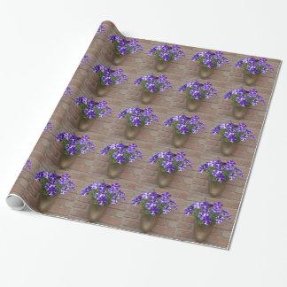 Nederlandse Belemmering met Paars Blauw Wit Inpakpapier