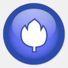 Nederlandse Tulp Ronde Sticker
