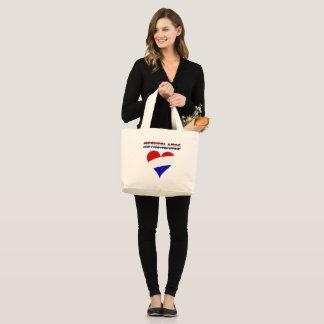 Nederlandse vlag grote draagtas