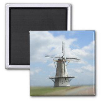 Nederlandse Windmolen Vierkante Magneet