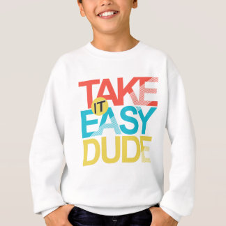 neem het gemakkelijke kerel trui