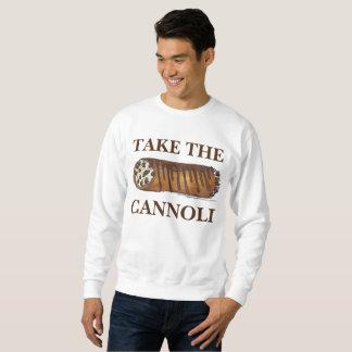 Neem het Sweatshirt Cannoli Italiaanse Cannolis