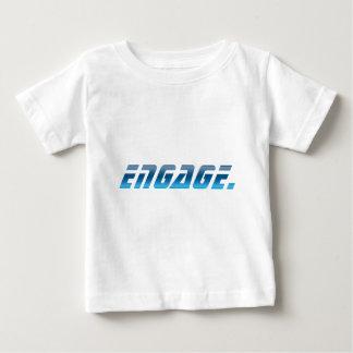 Neem in dienst baby t shirts