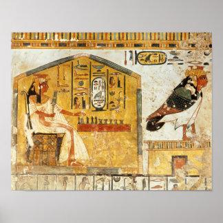 Nefertari die senet spelen poster