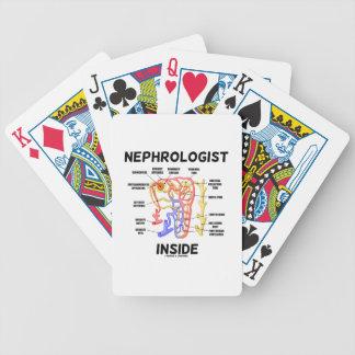 Nefroloog binnen (Nier Nephron) Bicycle Speelkaarten