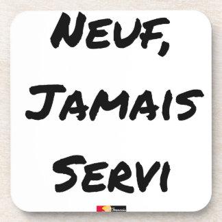 NEGEN, NOOIT GEDIEND - Woordspelingen - François Bier Onderzetter