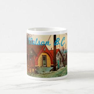 Nelson, overvalt BC Koffiemok