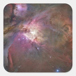 Nénuleuse van Orion Vierkant Sticker