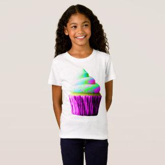 Neon Cupcake T Shirt