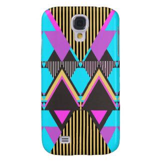 Neon Stammen 5 van de pop Galaxy S4 Hoesje