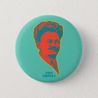 Neon Trotsky Ronde Button 5,7 Cm