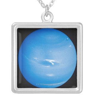Neptunus 2 zilver vergulden ketting