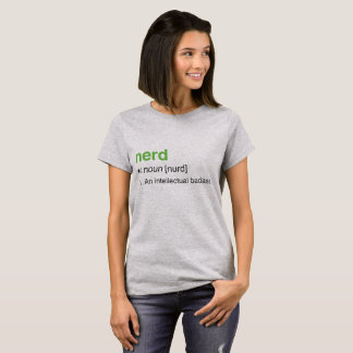 nerd definitie t shirt