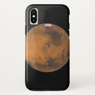 Nerdy iPhoneHoesje van Mars van de planeet iPhone X Hoesje