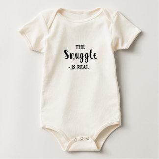 Nestel me is Echt Baby Shirt