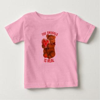 Nestel me is Echt dragen met Hart Baby T Shirts
