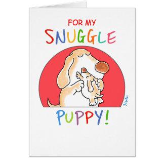 NESTEL ME PUPPY! door Boynton Kaart