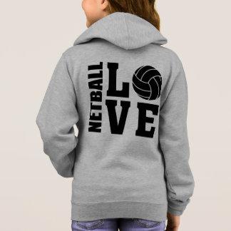 Netball van de Liefde van de Spelers het Hoodie