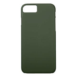 NETTE GROENE (stevige kleur) ~ iPhone 8/7 Hoesje